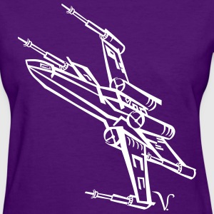 X-Wing Fighter [Artist Rendering 2] Women's T-shir - Women's T-Shirt