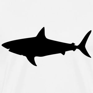 Megalodon Shark - Men's Premium T-Shirt