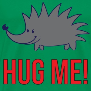 Hug Me! - hedgehog - Men's Premium T-Shirt
