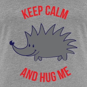 Keep Calm and Hug Me - Women's Premium T-Shirt