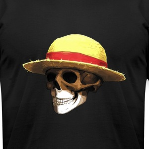 STRAW HAT ZOMBIE - Men's T-Shirt by American Apparel