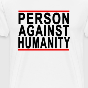 person_against_humanity - Men's Premium T-Shirt