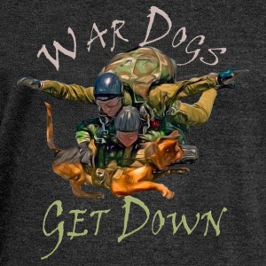 War Dogs Get Down  - Women's Wideneck Sweatshirt