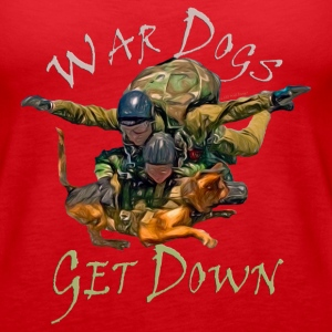 War Dogs Get Down #1 - Women's Premium Tank Top