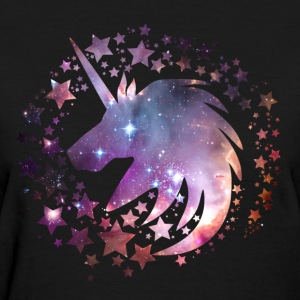 Unicorn Universe Galaxy Magical Fantasy Shirt - Women's T-Shirt