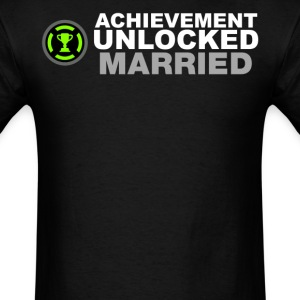 Achievement Unlocked Married - Men's T-Shirt