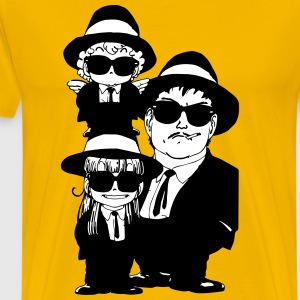 Arale Blues Brothers - Men's Premium T-Shirt