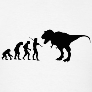 Evolution Dino - Men's T-Shirt