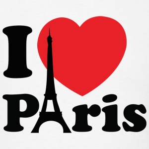 I Love Paris - Men's T-Shirt
