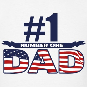 Number One Dad - Men's T-Shirt