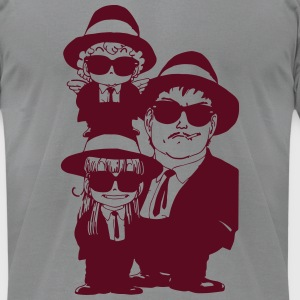 Arale Blues Brothers - Men's T-Shirt by American Apparel