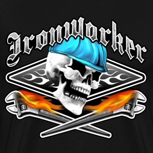 Ironworker Skull 1.0 - Men's Premium T-Shirt