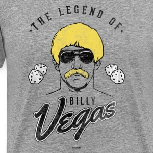 The Legend of Billy Vegas T-Shirts - Men's Premium T-Shirt
