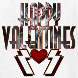 Happy Valentine DSS Kids T-Shirt - Kids' T-Shirt