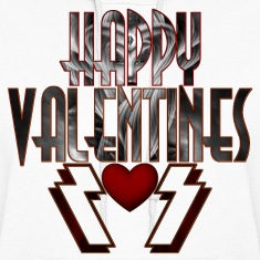 Happy Valentine DSS Womens Hooded Sweatshirt