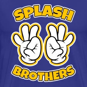Splash Brothers funny - Men's Premium T-Shirt
