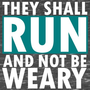 THEY SHALL RUN AND NOT BE WEARY Tanks - Women's Flowy Muscle Tank by Bella