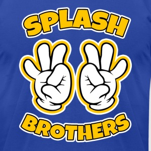 Splash Brothers funny - Men's T-Shirt by American Apparel