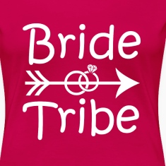 Bride Tribe Bridesmaid funny shirt