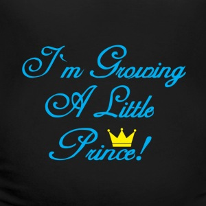 I am Growing A Little Prince Women's T-Shirts - Women's Maternity T-Shirt