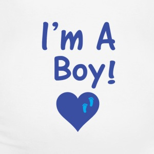 I am A Boy! Women's T-Shirts - Women's Maternity T-Shirt
