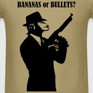 bananas or bullets? - Men's T-Shirt