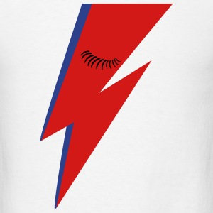Lightning Bolt and Eyelashes T-Shirts - Men's T-Shirt