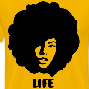 Black Women Life - Men's Premium T-Shirt