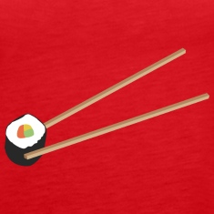 Sushi roll with chopsticks Tanks