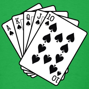 Playing Cards - Men's T-Shirt