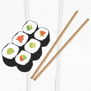 Sushi rolls with chopsticks Hoodies - Women's Hoodie