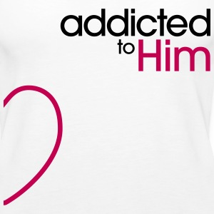 Addicted To Him Tanks - Women's Premium Tank Top