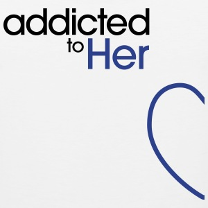 Addicted To Her Tank Tops - Men's Premium Tank