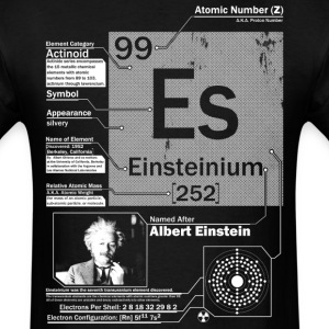 Einsteinium t shirt - Men's T-Shirt