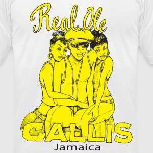 Real ole Gallis - Men's T-Shirt by American Apparel