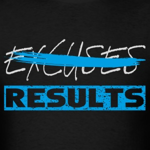 results white blue T-Shirts - Men's T-Shirt