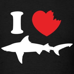 I Love Sharks - Men's T-Shirt