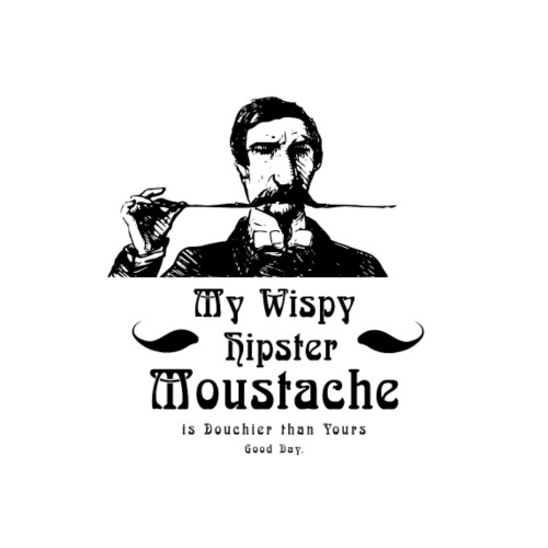 Hipster Moustache
