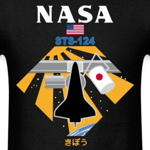 NASA STS-124 t shirt - Men's T-Shirt