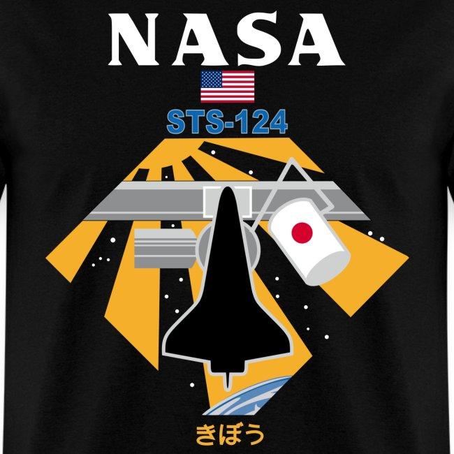 NASA STS-124 t shirt