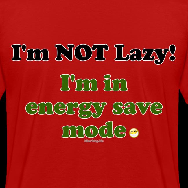 Women's Standard T- Energy Save (Back)