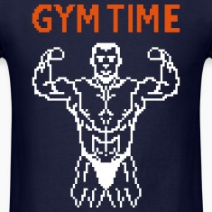 gym time pixelart T-Shirts