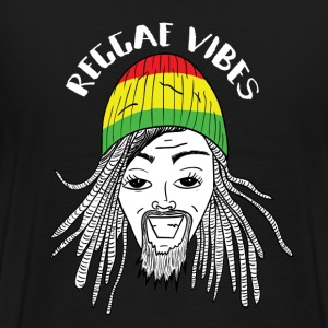 UNDV - Reggae Rasta Man (black) - Men's Premium T-Shirt