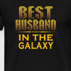 Best Husband In The Galaxy - Men's Premium T-Shirt