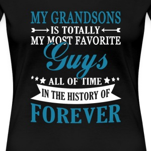 Grandsons Forever - Women's Premium T-Shirt