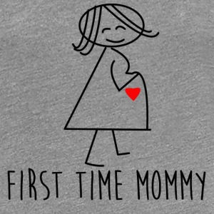 First time mom - Women's Premium T-Shirt