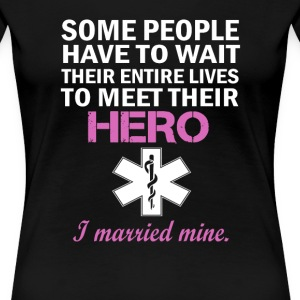 EMT's Wife - Women's Premium T-Shirt