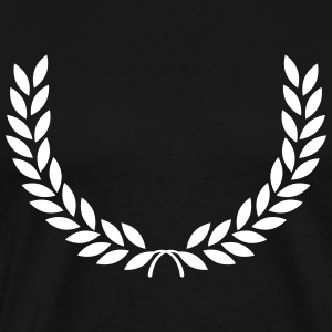 laurel wreath T-Shirts - Men's Premium T-Shirt
