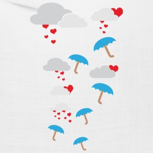 Umbrellas with hearts Caps - Bandana