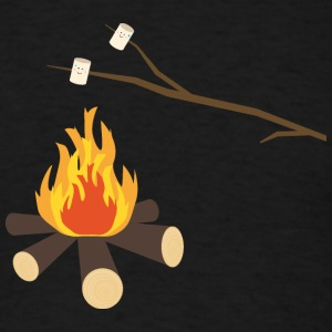 Campfire with marshmallows T-Shirts - Men's T-Shirt